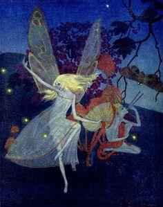 Dorothy LathropFrontispiece toWalter de la Mare'sBook of Fairies