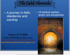 "My book, ""The Caleb Chronicles"" is available online @ Amazon, Barnes and Noble, Eden.com, www.waterstones.com, www.christianbook.com."