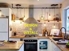 2019 Traditional Kitchen Design – Homey Feel, Functionality and Vivacious Appearance Ikea Kitchen Furniture, Ikea Kitchen Remodel, Apartment Kitchen, Kitchen Renovations, Kitchen Makeovers, Industrial Furniture, Chef Kitchen Decor, Kitchen Decor Themes, Kitchen Ideas