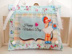 Retro Inspired Mother's Day Lavender sachetHome by picocrafts, $8.00