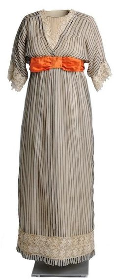 Dress, attributed to Paul Poiret, 1911. Alice day dress?
