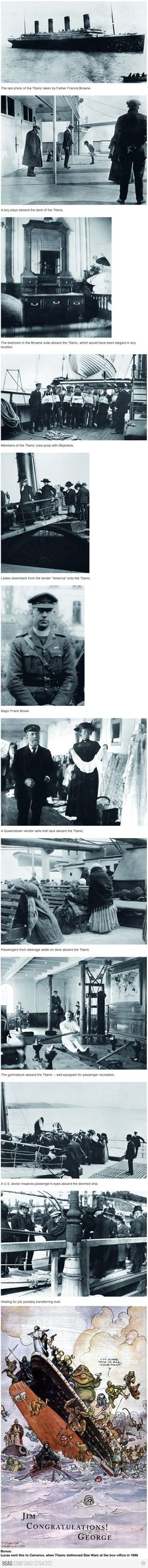Some pictures of the Titanic