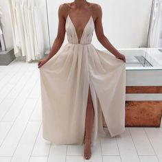 Charming Prom Dress,Sexy Prom Dresses, Sleeveless Open Back