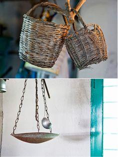 Details from the interior of a farmhouse in Paros Greek House, Greek Culture, Paros, Sweet Memories, Home Deco, Straw Bag, Bucket Bag, Greece, Nostalgia
