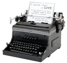 1945 Mini Typewriter