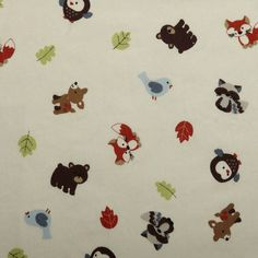 Carter's Forest Friends- Fitted Sheet
