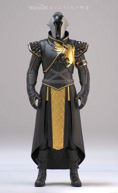 Destiny 2 Wise Warlock reveal gear Rosa Lee on ArtStation at www.artstation.co. Destiny Cosplay, Destiny Costume, Fantasy Character Design, Character Design Inspiration, Character Art, Futuristic Armour, Futuristic Art, Foto Fantasy, Dark Fantasy Art