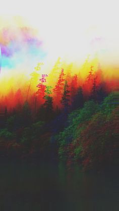 1080x1920 Anaglyph Mountain Green Nature Art Iphone 6 Plus