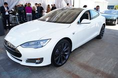 Tesla Model S white #cars  I saw a white Tesla driving home up PCH today.  Saw a black one driving home from work about a month ago. A local company. I wonder is they'll be able to survive their troubles.