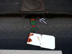 Art na Rua: O stencil art joke de Oakoak