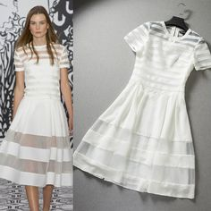 2014 runway dress women's High quality  dresses brand dresses US $54.17