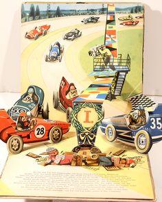 1962, Tip + Top als Autofahrer (Tip + Top Build A Motorcar).