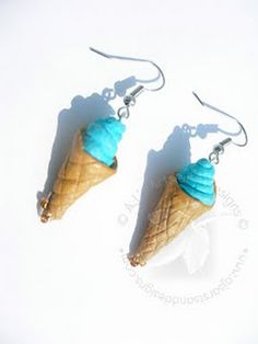 How To Make Waffle Cone Earrings