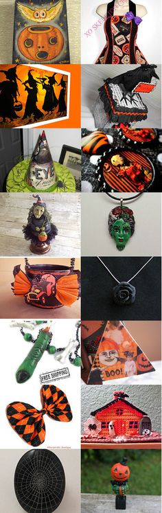 Halloween...will be here before you know it!!  by Jynxx on Etsy--Pinned with TreasuryPin.com #halloween #halloweenartistbazaar