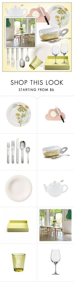 """""""Kitchen Utensils"""" by lovethesign-shop ❤ liked on Polyvore featuring interior, interiors, interior design, home, home decor, interior decorating, Pordamsa, Internoitaliano, kitchen and Home"""