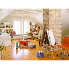 Top 7 Beautiful Playroom Design Ideas ❤ Liked On Polyvore Featuring House,  Rooms, Home