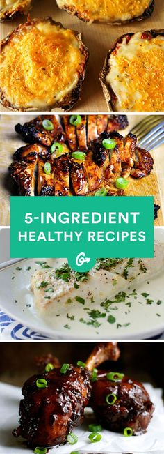 5-Ingredient Healthy Dinners for Busy Weeknights #healthy #recipes http://greatist.com/eat/healthy-weeknight-recipes