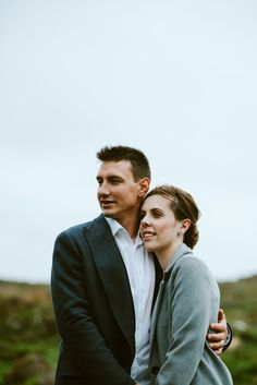 a stormy elopement on the Isle of Skye.