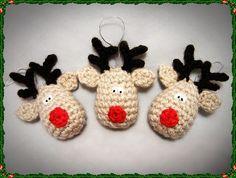 Reindeer Crochet Christmas Decoration Pattern, Reindeer Crochet Christmas Decoration Pattern |
