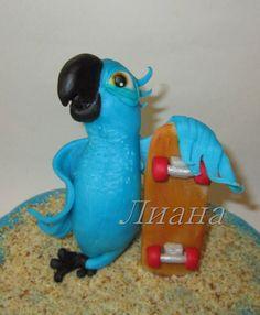- Rio Cake, Parrot, Dinosaur Stuffed Animal, Bird, Toys, Animals, Parrot Bird, Activity Toys, Animales