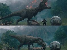 Rexy saves the day again