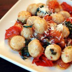 5 faux noodles that make a guilt-free pasta recipe (like these Roasted Cauliflower Gnocchi). #lowcarb #healthyrecipes #veggienoodles #healthyeating #everydayhealth | everydayhealth.com