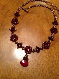 Image result for swarovski beaded necklaces patterns