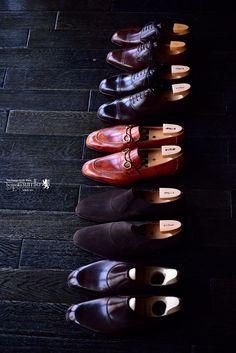 SPIGOLA(スピーゴラ)の靴職人、鈴木幸次のオーダー靴作品。,鈴木幸次,KojiSuzuki,スピーゴラ,SPIGOLA,bespokeShoes,神戸,オーダー靴,革靴,ANTICA BOTTEGA DELLA SPIGOLA,トランクショー,受注会,オーダー,誂え,紳士,オーダーメイド,福岡,八幡西区,黒崎,北九州,ビスポークスーツ110,bespokeSUIT110,bespokeSUITIIO, Sock Shoes, Men's Shoes, Dress Shoes, Men Looks, Leather Shoes, Men Dress, Socks, Watches, Clothes