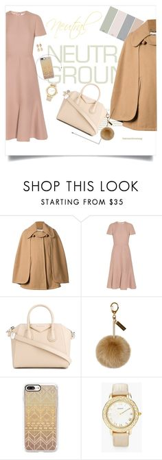 """Neutral outfit #1"" by kawaii-02 ❤ liked on Polyvore featuring Chloé, Valentino, Givenchy, Helen Moore, Casetify, Chico's and Ruby Rd."