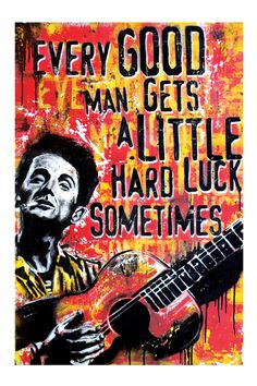 Woody Guthrie (Okemah)  http://www.etsy.com/shop/pointblankdesign