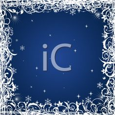 iCLIPART - Royalty Free Clipart Image of a Winter Background