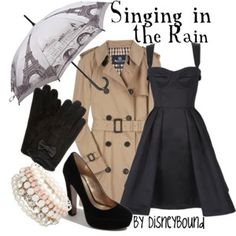 Disney Inspired Outfits - Polyvore  AM:  More like Breakfast at Tiffany's outfit
