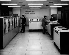 Univac - 1970 (via Musée de l'Informatique)