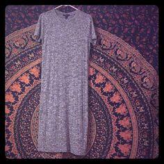 Dress Short sleeve knee length dress Forever 21 Dresses Midi
