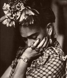 """""""I don't paint dreams or nightmares. I paint my own reality. The only thing I know is that I paint because I need to, and I paint whatever passes through my head without any other consideration."""" Frida ♥"""