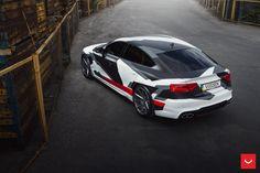 Audi-a5 wrapp Vossen Wheels cars wallpaper
