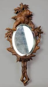 Resultado de imagem para hand mirror wood
