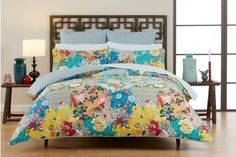 TULIENNE Quilt Cover by MORGAN & FINCH - Bed Bath and Table