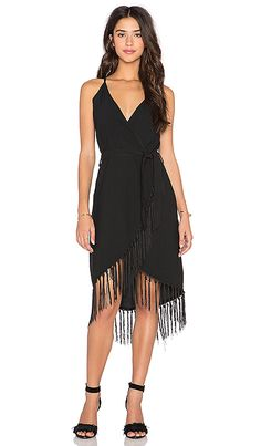Shop for GLAMOROUS Fringe Wrap Dress in Black at REVOLVE. Free 2-3 day shipping and returns, 30 day price match guarantee.