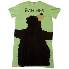 462094e3ef Amazon.com  Lazy One Bear Hug Nightshirt