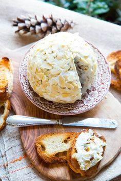 Recipe: Blue Cheese Ball with Dried Figs and Honey