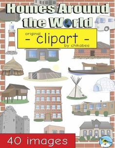 homes around the world clipart. homes around the world clip art clipart