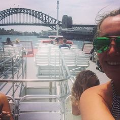 Sydney Harbour Bridge Selfie  #Sydney #Australia #sydneyharbourbridge #boat #travel #tourist #selfie by jessiebeau http://ift.tt/1NRMbNv