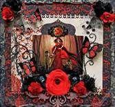 gothic scrapbook layouts -