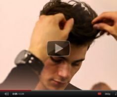 5 Men's modern 'Quiff' hairstyles to try this weekend... see the [how-to] videos at link...