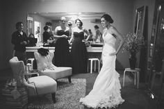 Bridal Dressing Room at CCC  Rebecca Allen Photography