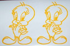 2X Tweety bird vinyl decal stickers 7 by stevesvinylstickers, $5.00