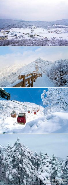 Xiling Snow Mountains, Chengdu, China