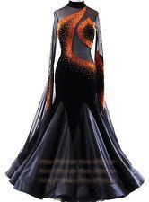 B4963 Elegant Women swing tango waltz Smooth dance competition dress us 6
