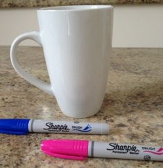 Mug, Sharpies, Quotegarden.com = great end of year gift